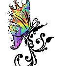 Butterfly Swirl by Jacqueline Eden