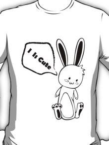 Cute Black and White Rabbit T-Shirt