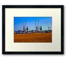 In the Reeds Framed Print