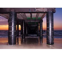 Coogee Jetty on Sunset Photographic Print