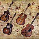 Guitar Love by Glenna Walker