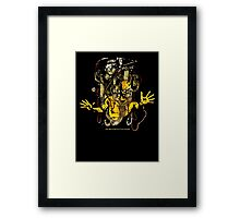 White Light Generator Framed Print