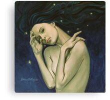 """Virgo""...from ""Zodiac signs"" series Canvas Print"