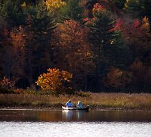Fishing Seniors by Len Bomba