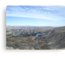 Beartooth Scenic Highway - Summit and Cirques Metal Print