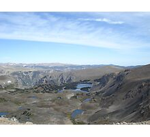 Beartooth Scenic Highway - Summit and Cirques Photographic Print