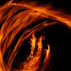 Fire Dancers by redpenny