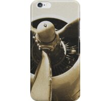 Plane from a Vintage Dream iPhone Case/Skin