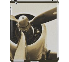 Plane from a Vintage Dream iPad Case/Skin