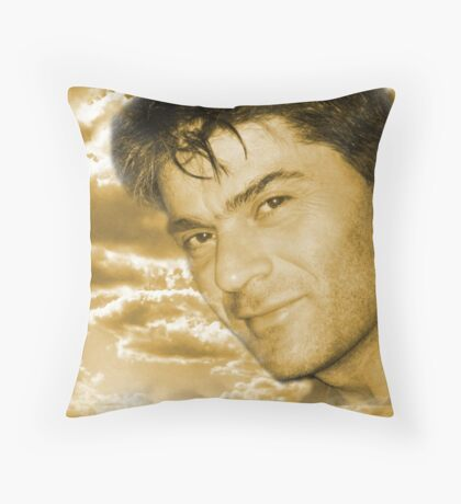 Here I am (self portrait series) !... Throw Pillow