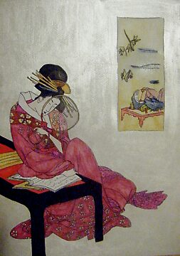 Geisha Reflections by Alexandra Felgate