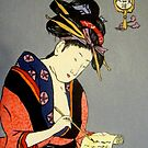 Geisha Writes a Letter by Alexandra Felgate