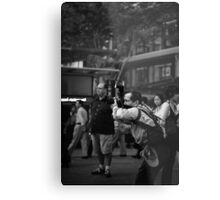 Everybody knows you're a tourist. Metal Print