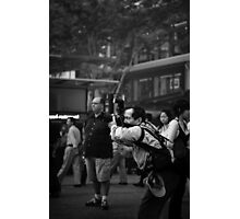 Everybody knows you're a tourist. Photographic Print