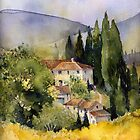 Morning in Tuscany by artbyrachel