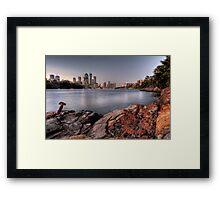 Kangaroo Point • Brisbane Framed Print