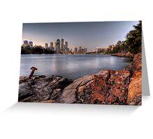 Kangaroo Point • Brisbane Greeting Card