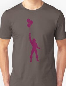 Heman at the Fun Park - Purple Unisex T-Shirt