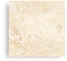 Travertine marbles. Canvas Print