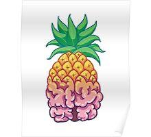 Pineapple Brain Poster