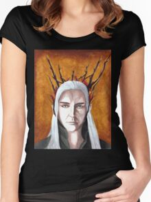 Wood Elf King Women's Fitted Scoop T-Shirt