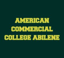 AMERICAN COMMERCIAL COLLEGE ABILENE by philbeck