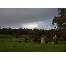 Aussie Station Photographic Print
