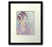 Elf Queen Framed Print