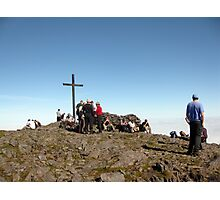 Carrauntoohil summit Photographic Print