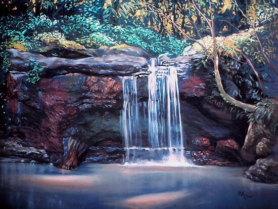 waterfall by maria paterson