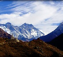 Everest View by Kylie Moroney