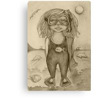 Chelsea by the Sea Drawing Canvas Print