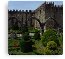 The Garden of Santa Barbara, Braga Canvas Print