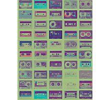 Audio cassette tape nostalgia Photographic Print