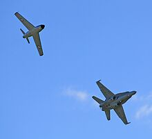 FA18 and F86 Formation  by davidc