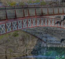 HDR Kings Bridge Launceston Tasmania by Thow's Photography .