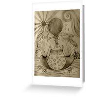 Serenity drawing Greeting Card
