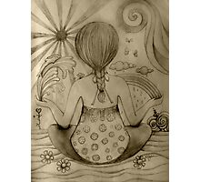 Serenity drawing Photographic Print