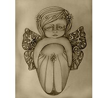 Gossamer Fairy drawing Photographic Print