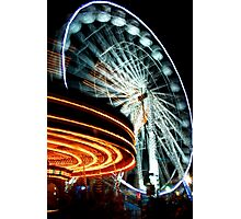 Whirling 2 Photographic Print