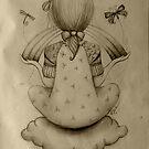 Cloud Nine drawing by © Karin Taylor
