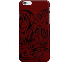 pokemon ninetales fox anime shirt iPhone Case/Skin