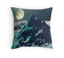 Night Mountains No. 2 Throw Pillow