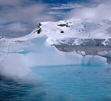 Chilling Blue - Paradise Bay, Antarctica by Craig Baron