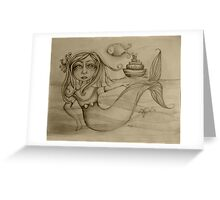 Rendezvous drawing Greeting Card