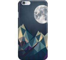 Night Mountains No. 1 iPhone Case/Skin