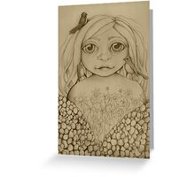 Nature's Child drawing Greeting Card