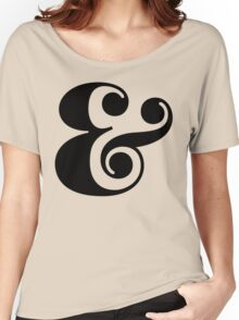 Ampersand. Women's Relaxed Fit T-Shirt