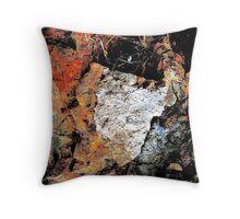 Rock Abstract Throw Pillow