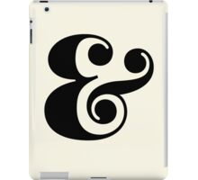 Ampersand. iPad Case/Skin
